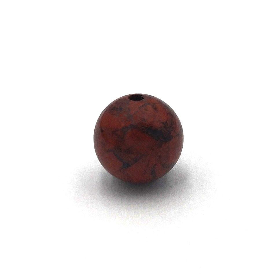 Demanic Bead Breciated Red Jasper