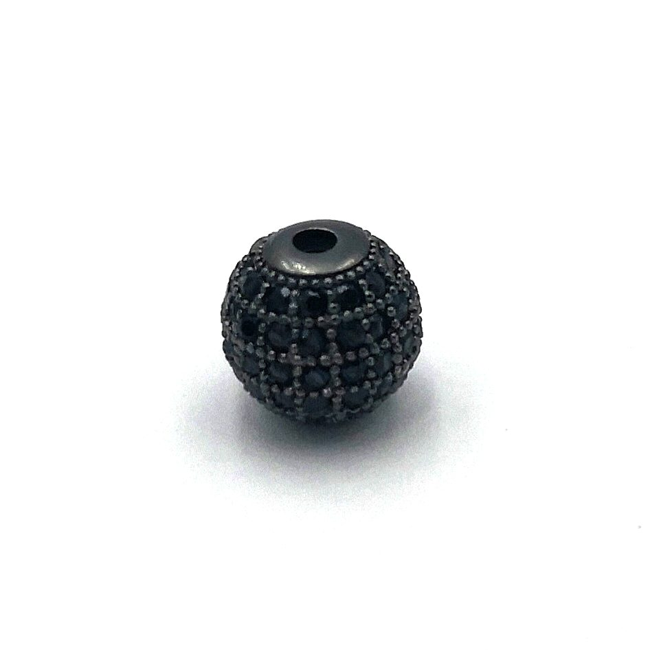Demanic Bead Gun Black Cubic Zirconia Diamond