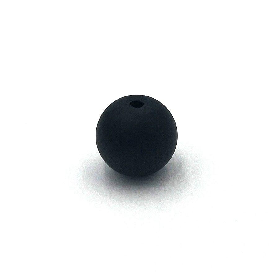 Demanic Bead Dull Polished Black Onyx