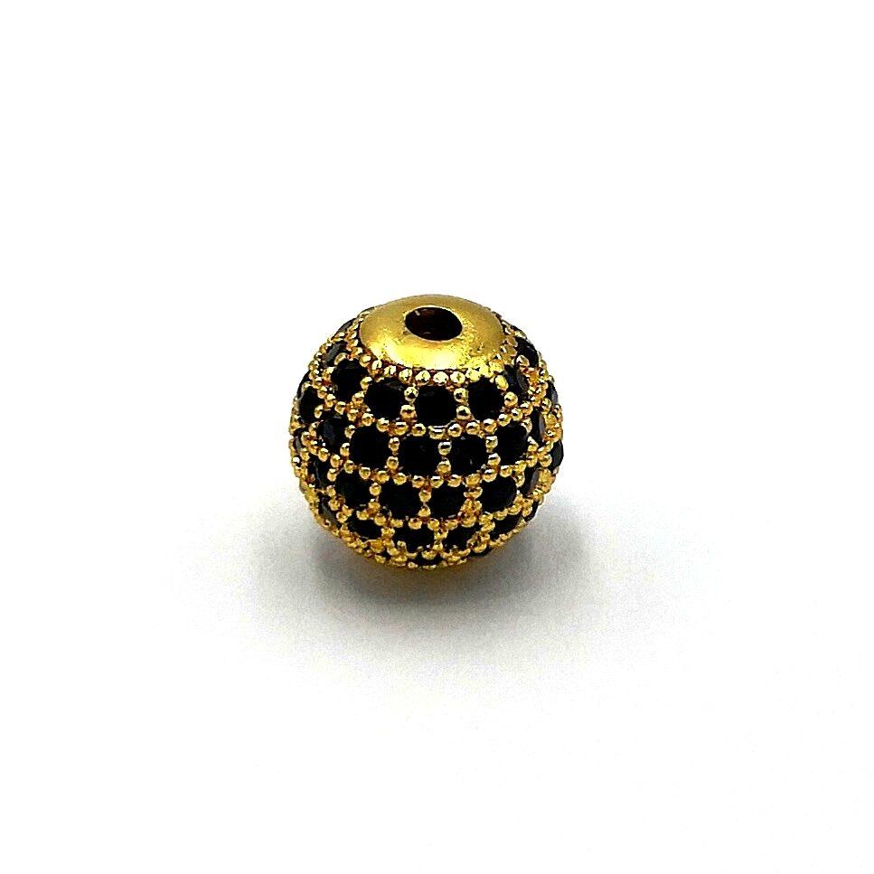 Demanic Bead CZ Diamond (Gold)
