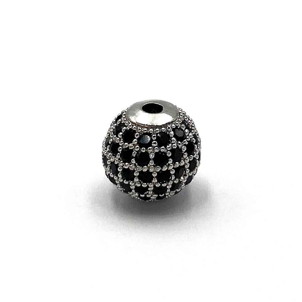 Demanic Bead CZ Diamond (Silver)