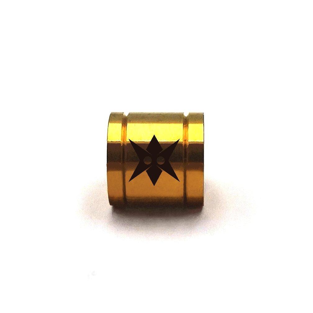 Demanic Round Steel Spacer Gold
