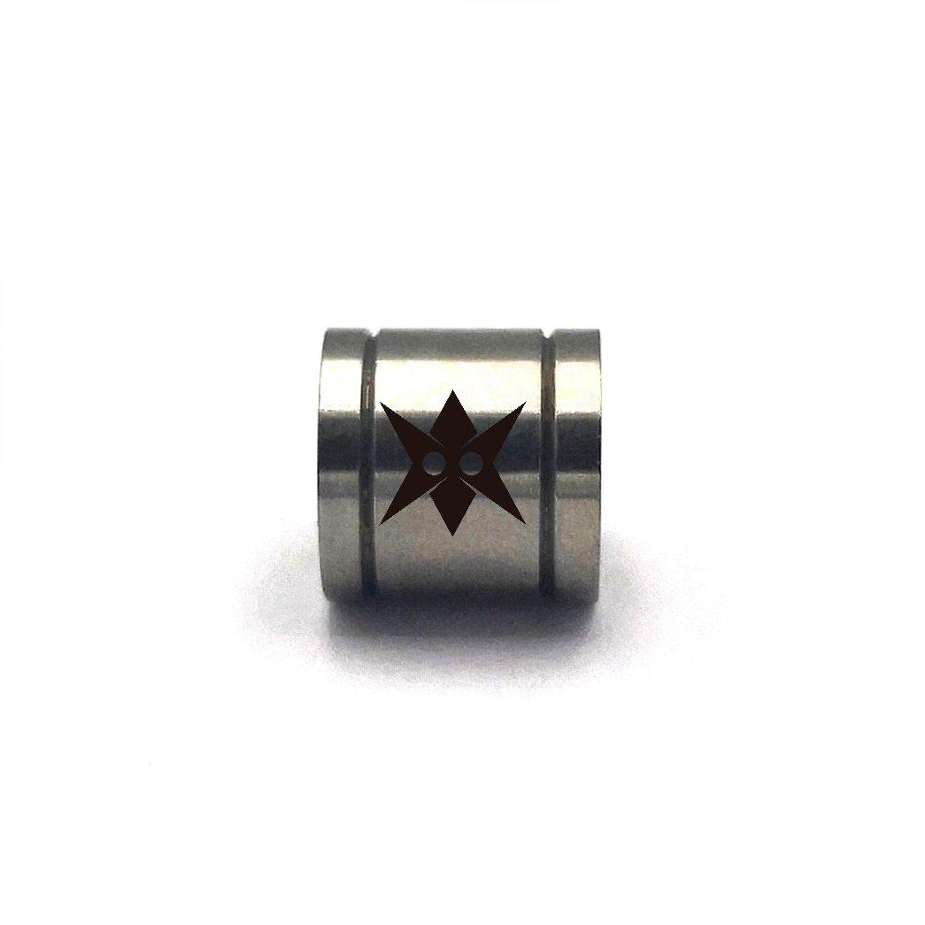 Demanic Round Steel Spacer Natural